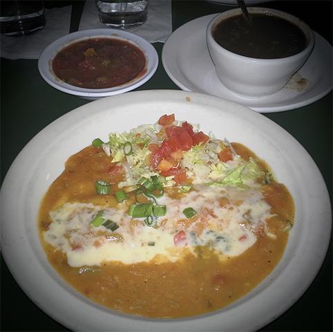 Spinach Enchilada - LasVegasBuffetClub